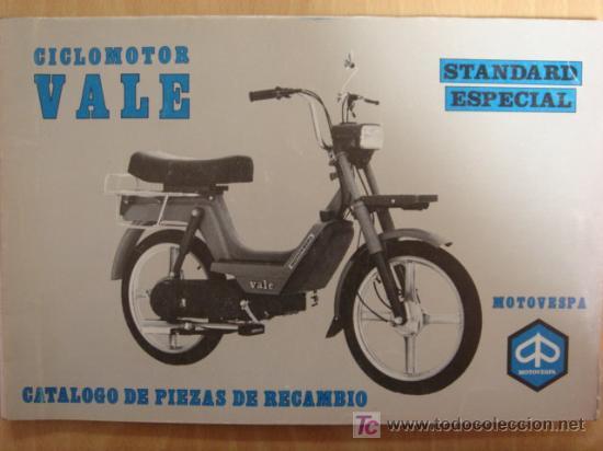 Catalogo original de piezas motovespa vale stan vendido for Piezas de fontaneria catalogo
