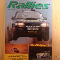 Coches y Motocicletas: ANUARIO AUTOMOVIL RALLIES 1995 1996 WORLD RALLYING 18. Lote 98885219