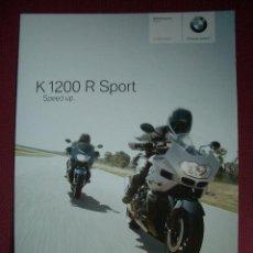 Coches y Motocicletas: BMW K 1200R SPORT 2007, CATALOGO COMERCIAL. Lote 26465994