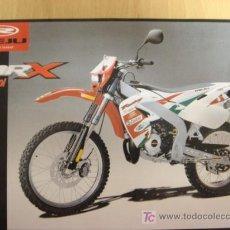 Coches y Motocicletas: LAMINA TECNICA ORIGINAL RIEJU MRX CASTROL. Lote 5960275