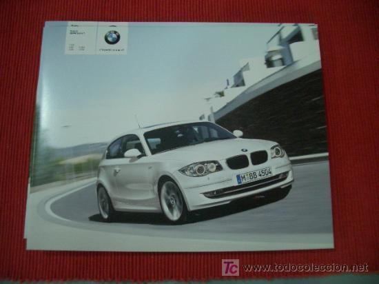 BMW SERIE 1 3 PUERTAS 2007, CATALOGO COMERCIAL-BROCHURE (Coches y Motocicletas Antiguas y Clásicas - Catálogos, Publicidad y Libros de mecánica)