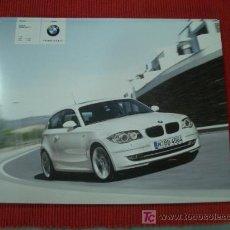 Coches y Motocicletas: BMW SERIE 1 3 PUERTAS 2007, CATALOGO COMERCIAL-BROCHURE. Lote 29189235