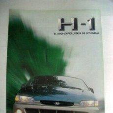Coches y Motocicletas: HYUNDAI H-1 1998, CATALGO COMERCIAL-BROCHURE . Lote 26465968