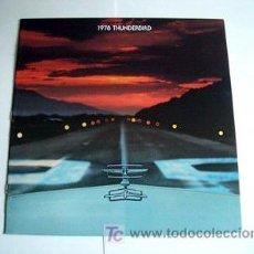 Coches y Motocicletas: FORD THUNDERBIRD 1978, CATALOGO COMERCIAL-BROCHURE. Lote 184581435