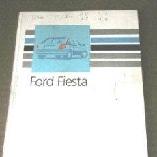 Coches y Motocicletas: FORD FIESTA - MANUAL USUARIO ORIGINAL - 1988 - FRANCES. Lote 6059711