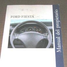 Coches y Motocicletas: FORD FIESTA - MANUAL USUARIO ORIGINAL - 1993 - ESPAÑOL. Lote 6059739