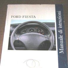 Coches y Motocicletas: FORD FIESTA - MANUAL USUARIO ORIGINAL - 1995 - ITALIANO. Lote 6059767