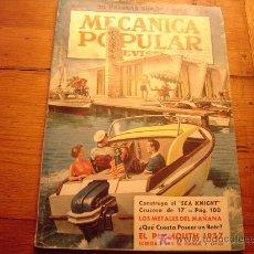 Coches y Motocicletas: REVISTA MECANICA POPULAR JULIO 1957. Lote 12399905