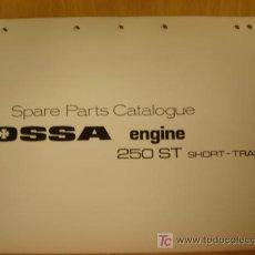 Coches y Motocicletas: MANUAL DESPIECE ORIGINAL MOTOR OSSA 250 SHORT TRACK.. Lote 55897443