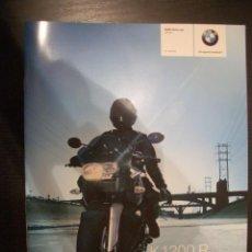 Coches y Motocicletas: BMW K 1200 R 2007, CATALOGO COMERCIAL-BROCHURE. Lote 26466017