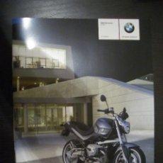 Coches y Motocicletas: BMW R 1200 R 2007, CATALOGO COMERCIAL-BROCHURE. Lote 133478709