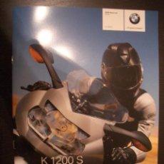 Coches y Motocicletas: BMW K 1200 S 2007, CATALOGO COMERCIAL-BROCHURE. Lote 26920197