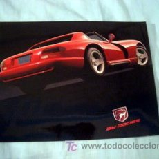 Voitures et Motocyclettes: DODGE VIPER 1998, CATALOGO COMERCIAL-FOLDER. Lote 26919792