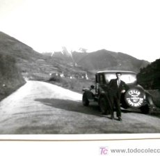 Coches y Motocicletas: FOTO ORIGINAL CON AUTOMÓVIL CESAR IMPERATOR MIDE APROX. 9 X 6 CMS. .. Lote 6810950