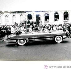 Coches y Motocicletas: FOTO ORIGINAL CON AUTOMÓVIL MIDE APROX. 10 X 7 CMS. . AÑOS 50.. Lote 6811039