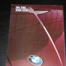 Coches y Motocicletas: 1985 - BMW SERIE 3 - CATALOGO PUBLICIDAD ORIGINAL - EN ESPAÑOL. Lote 21552380