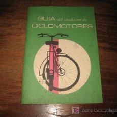 Coches y Motocicletas: GUIA DEL CONDUCTOR DE CICLOMOTORES . Lote 7358605