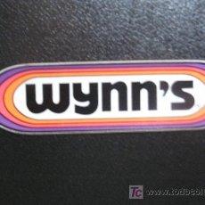 Coches y Motocicletas: WYNN'S. PEGATINA. Lote 7551015