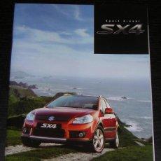 Coches y Motocicletas: SUZUKI SX4 - CATALOGO PUBLICIDAD ORIGINAL - AÑO 2007 - ESPAÑOL. Lote 7739018
