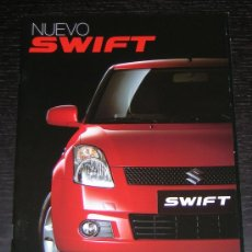 Coches y Motocicletas: SUZUKI SWIFT - CATALOGO PUBLICIDAD ORIGINAL - AÑO 2007 - ESPAÑOL. Lote 7739023