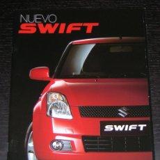 Coches y Motocicletas: SUZUKI SWIFT - CATALOGO PUBLICIDAD ORIGINAL - AÑO 2007 - ESPAÑOL. Lote 7739031