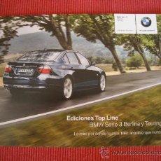 Coches y Motocicletas: BMW SERIE 3 TOP LINE 2008, CATALOGO COMERCIAL-BROCHURE. Lote 29185974