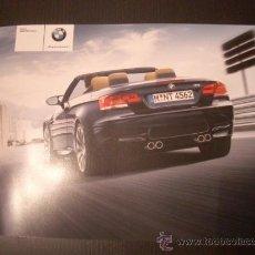 Coches y Motocicletas: BMW M3 CABRIO 2008, CATALOGO COMERCIAL-BROCHURE. Lote 63974649