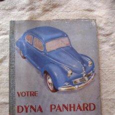 Coches y Motocicletas - MANUAL FRANCES DYNA PANHARD - 20388547