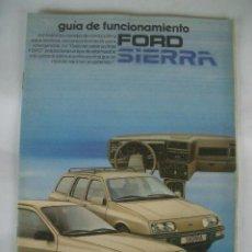 Coches y Motocicletas: FORD SIERRA 1983, MANUAL DE USUARIO. Lote 27054420