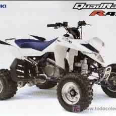 Coches y Motocicletas: FOLLETO - SUZUKI QUADRACER R 450. Lote 9446635