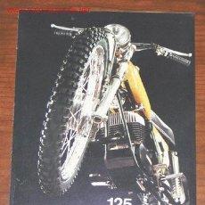 Coches y Motocicletas: BENELLI 125 CROSS - CATALOGO PUBLICITARIO ORIGINAL - ITALIANO. Lote 19909886