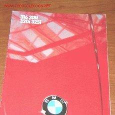 Coches y Motocicletas: BMW SERIE 3 - CATALOGO PUBLICITARIO ORIGINAL - 1985 - INGLES. Lote 19253831