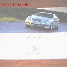 Coches y Motocicletas: MERCEDES BENZ CLK COUPE - CATALOGO PUBLICIDAD ORIGINAL - 2000 - FRANCES. Lote 20245909