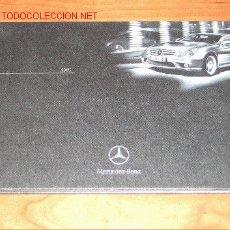 Coches y Motocicletas: MERCEDES BENZ AMG - CATALOGO PUBLICIDAD ORIGINAL - 2004 - FRANCES. Lote 16331431