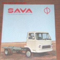 Coches y Motocicletas: SAVA PEGASO CAMION S-511 - CATALOGO PUBLICIDAD ORIGINAL - ESPAÑOL. Lote 20533320