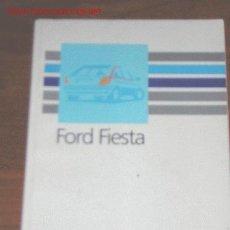 Coches y Motocicletas: FORD FIESTA - MANUAL USUARIO ORIGINAL - 1989 - ESPAÑOL. Lote 6025847