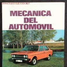 Coches y Motocicletas: MECANICA DEL AUTOMOVIL. Lote 2646834