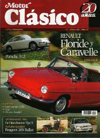 MOTOR CLASICO Nº 217 (Coches y Motocicletas Antiguas y Clásicas - Catálogos, Publicidad y Libros de mecánica)