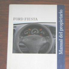 Coches y Motocicletas: FORD FIESTA - MANUAL USUARIO ORIGINAL - 1996 - ESPAÑOL. Lote 6231993