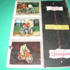 Coches y Motocicletas: CATALOGO DE PEUGEOT MOTOS . Lote 26938163