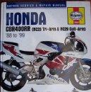 Coches y Motocicletas: HONDA CBR400RR NC23 TRI-ARM 6 NC29 GULL-ARM (1988/99) MANUAL DE INSTRUCCIONES- TEXTO EN INGLÉS. . Lote 26337539