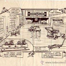 Coches y Motocicletas: PUBLICIDAD DE LA ESTACIÓN DE SERVICIO AUTOCESORIOS HARRY WALKER. Lote 26616446