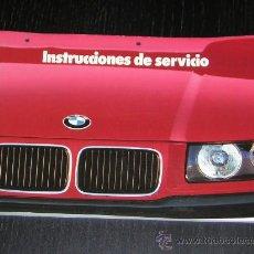 Coches y Motocicletas: BMW SERIE 3 - MANUAL USUARIO ORIGINAL - 1991 - ESPAÑOL. Lote 10192224