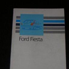 Coches y Motocicletas: FORD FIESTA - MANUAL USUARIO ORIGINAL - 1990 - ESPAÑOL. Lote 10192806