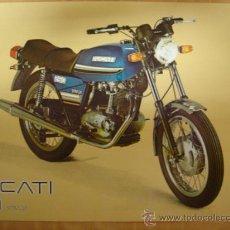 Coches y Motocicletas: .LAMINA TECNICA ORIGINAL MOTOCICLETA DUCATI 250 STRADA MOTOTRANS .. Lote 81866348