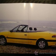 Coches y Motocicletas: POSTER PEUGEOT 306 CABRIOLET. Lote 10652700