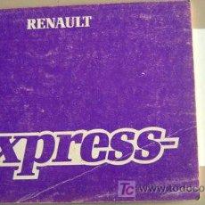 Coches y Motocicletas: RENAULT EXPRESS - 1986 - TODA LA GAMA - MANUAL INSTRUCCIONES USUARIO, TEXTO EN ESPAÑOL.. Lote 20986997