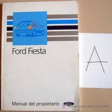 Coches y Motocicletas: FORD FIESTA - 1990 - TODA LA GAMA - MANUAL INSTRUCCIONES USUARIO, TEXTO EN ESPAÑOL.. Lote 13846325
