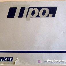 Coches y Motocicletas: FIAT TIPO - 1988 - TODA LA GAMA - MANUAL INSTRUCCIONES USUARIO, TEXTO EN ESPAÑOL.. Lote 19667929