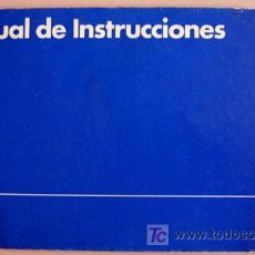 Coches y Motocicletas: VOLKSWAGEN POLO - 1983 - TODA LA GAMA - MANUAL INSTRUCCIONES USUARIO, TEXTO EN ESPAÑOL.. Lote 22237731